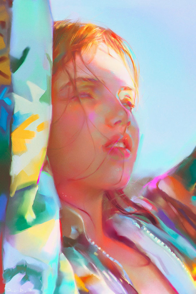 Color and light study di Yanjun Cheng