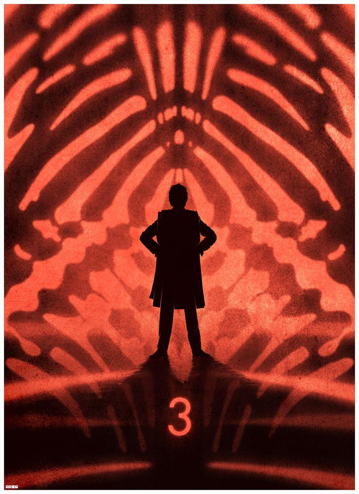 Dr Whos 50th anniversary poster di Matt Ferguson