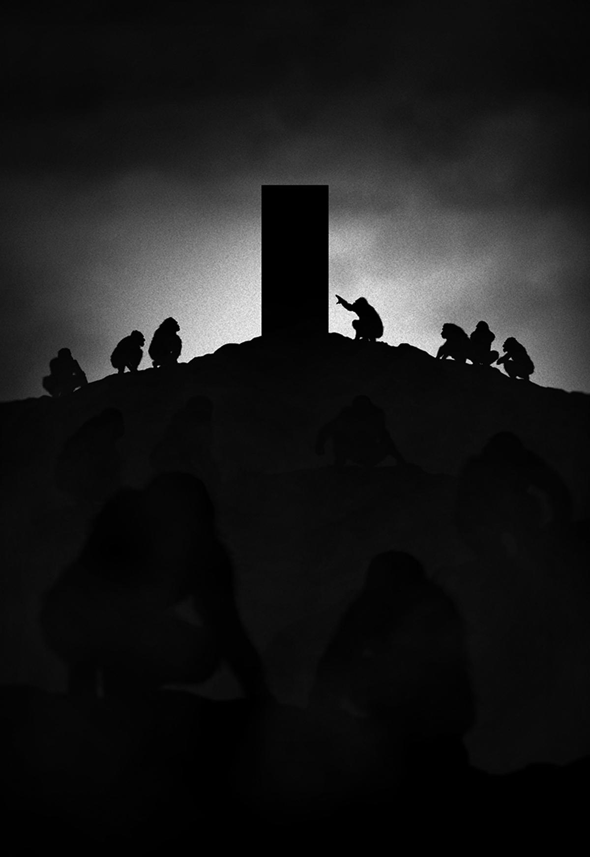 Monolith, Space Odyssey di Stanley Kubrik