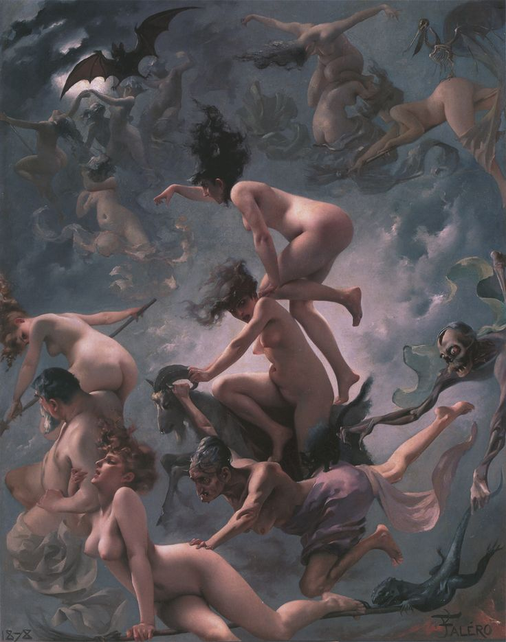 Witches on the Sabbath di Luis Ricardo Falero