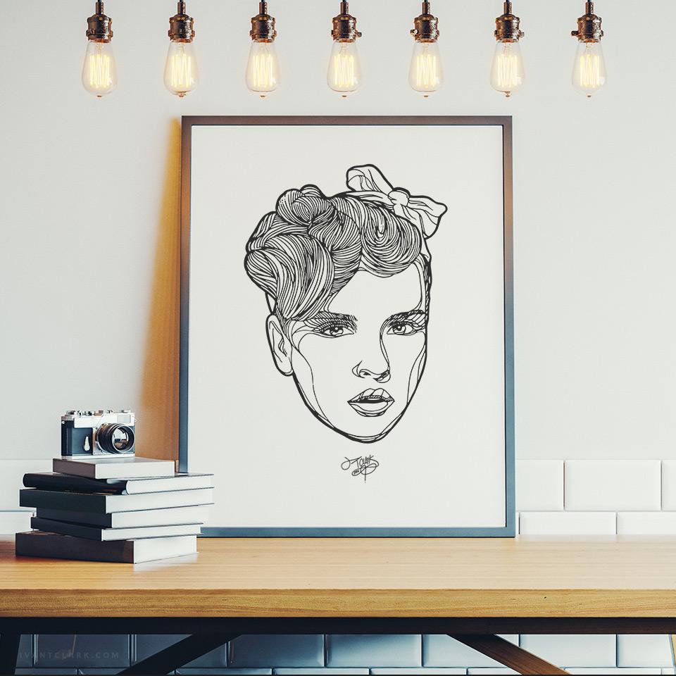 FEATURES-Giselle-illustrazione-ivantclark-com