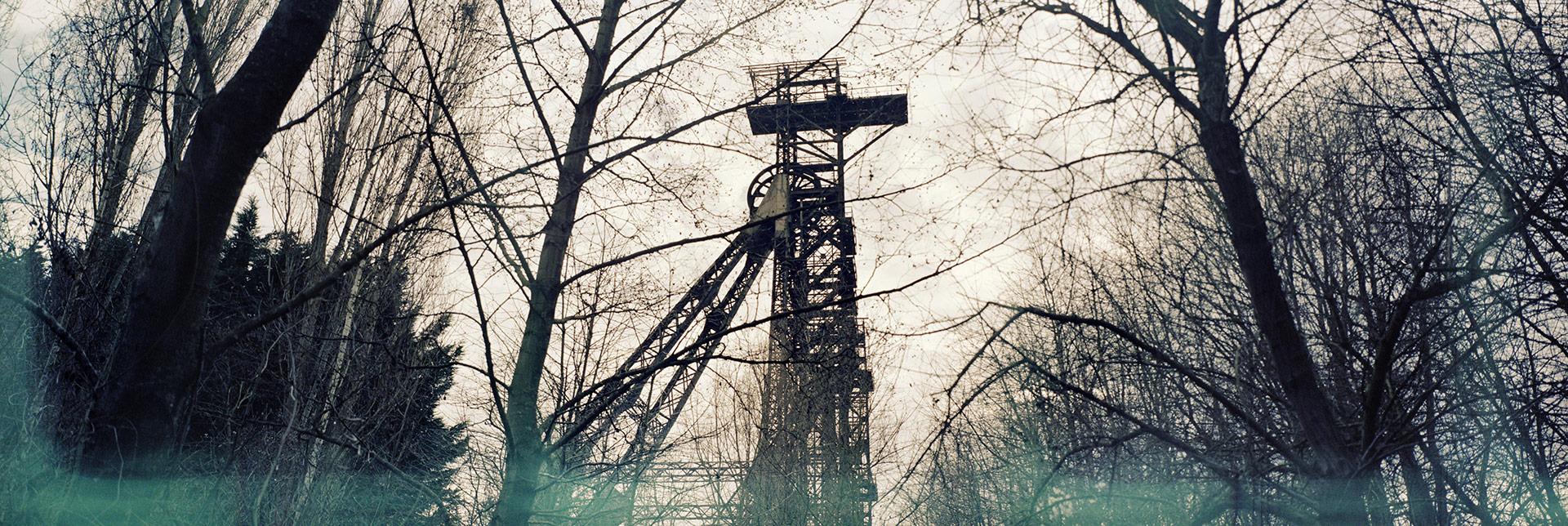 Una miniera abbandonata presso Couillette, in Vallonia; è una delle poche ancora in piedi dopo le chiusure iniziate negli anni Settanta, forse l'unica non ancora trasformata in museo